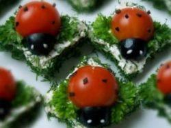 ladybugs sendviči