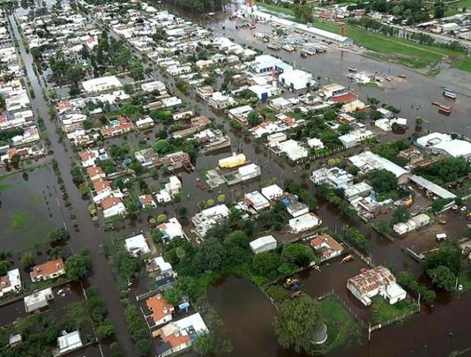 Наводнение в Санта-Фе