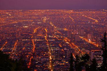 Сантьяго - ночью