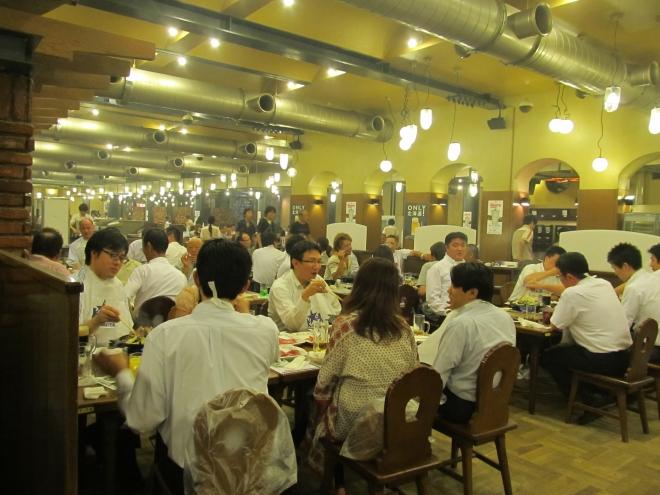 Ресторан Hiraku - одно из лучших недорогих заведений в Саппоро