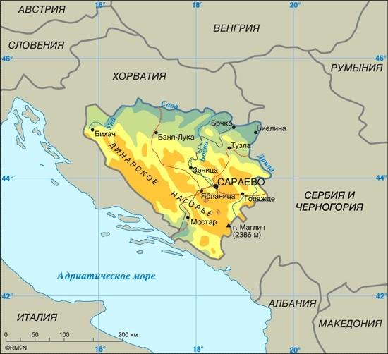 gdje je Sarajevo
