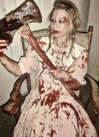 przerażające kostiumy na Halloween 1