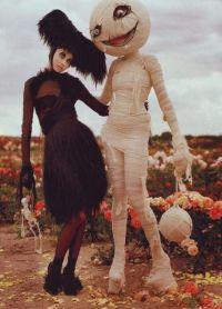 przerażające kostiumy na Halloween 3
