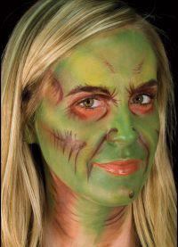 straszny makijaż na halloween2