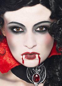 straszny makijaż na halloween5