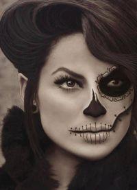 straszny makijaż na halloween7