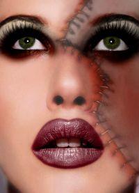 straszny makijaż na halloween8