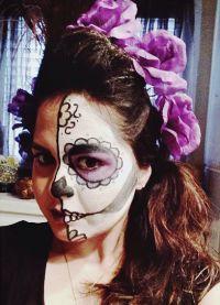 straszny makijaż na halloween9
