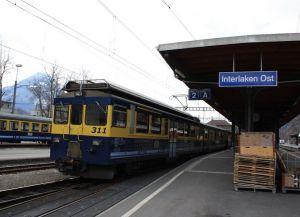 Станция Интерлакен Ост