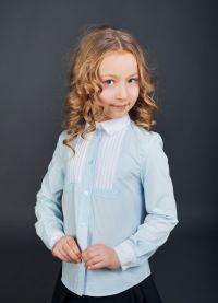 bluzki szkolne dla dziewczynek 2014 1