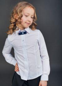 bluzki szkolne dla dziewczynek 2014 2
