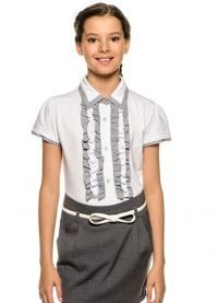 bluzki szkolne dla dziewczynek 2014 4