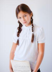 bluzki szkolne dla dziewczynek 2014 6