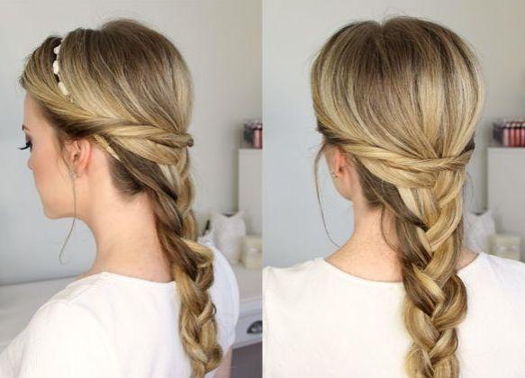 školske frizure za djevojke za dugu kosu 7