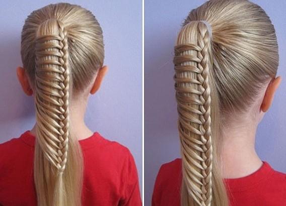 frizure za djevojčice na duge kose 3
