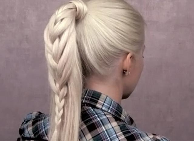 frizure za djevojčice na duge kose 4