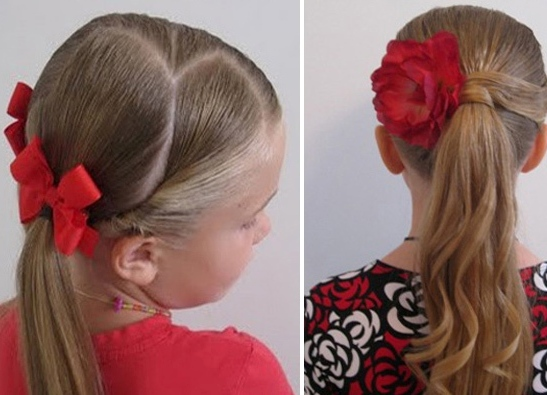frizure za djevojčice na duge kose 5
