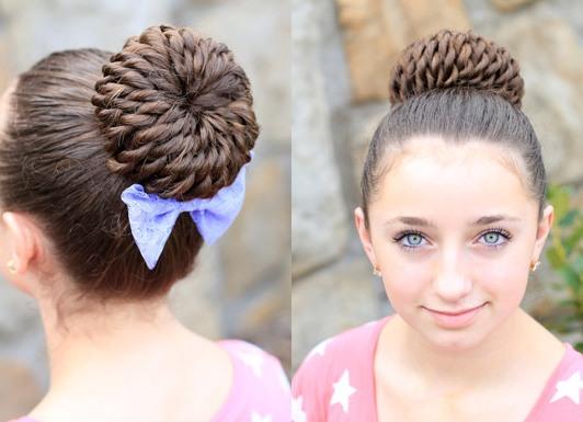 školske frizure za djevojčice na dugoj kosi 6