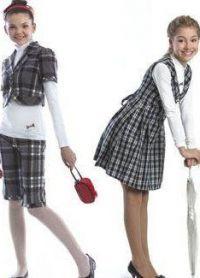 mundurek szkolny dla nastoletnich dziewcząt 4