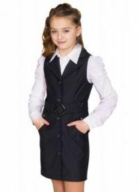 mundurek szkolny dla nastoletnich dziewcząt 5