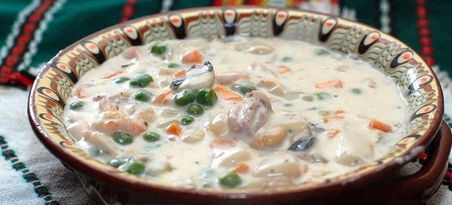 супа са морским коктел рецептом