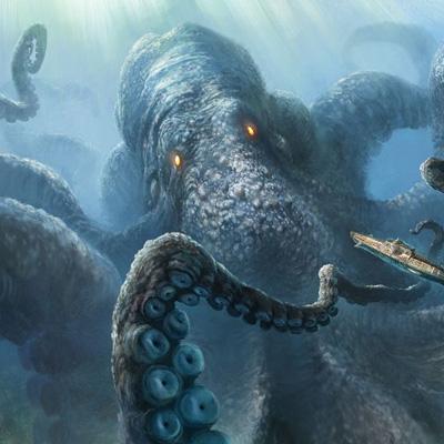 морско чудовиште кракен