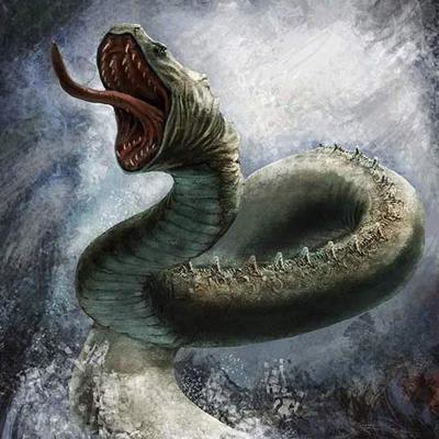 морско чудовиште Левиатхан