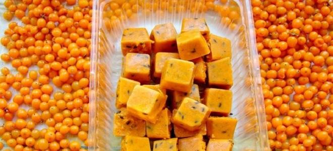 Pečen morski bučk s sladkorjem zamrznjen