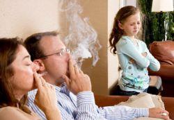 szkoda biernego palenia