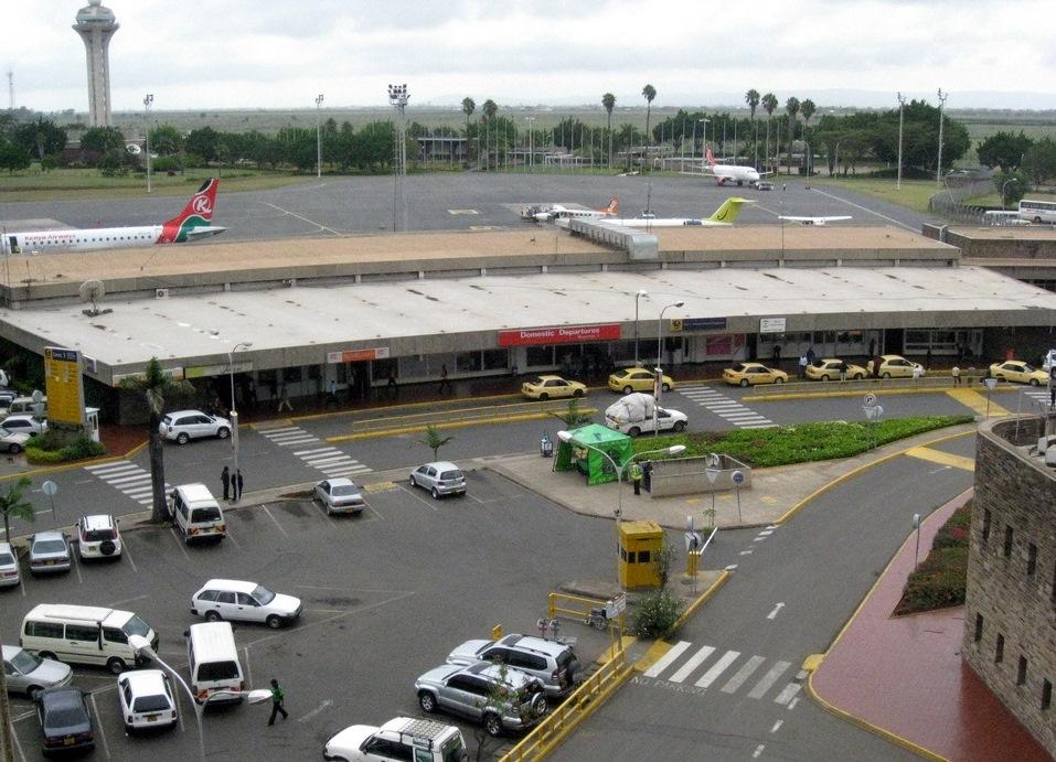 Аэропорт в Найроби