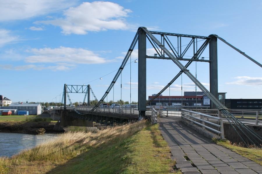 Мост в г. Селфосс