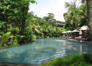 Отель Siloso Beach Resort Sentosa бассейн