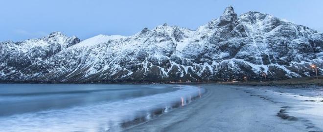 Остров Сенья зимой