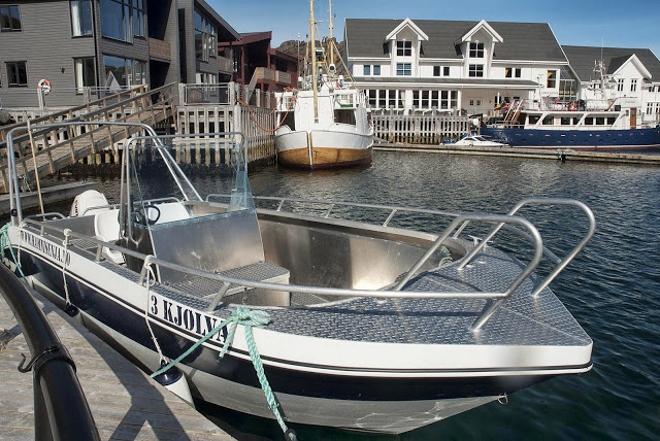 Сюда приезжают любители рыбалки как со всей Норвегии, так и из других стран