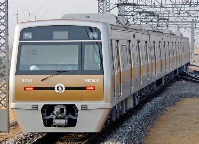 Поезд метро Сеула