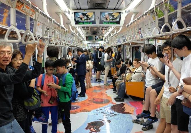 Сотовая связь в метро работает