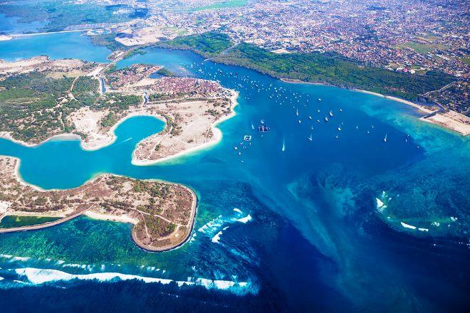 Панорама острова Серенган