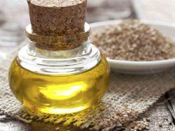pomarszczony olej sezamowy