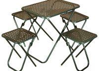 set piknik namještaja