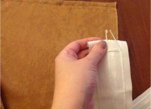 Šivanje zaves z lastnimi rokami14