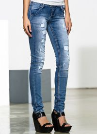 Frayed jeans 8