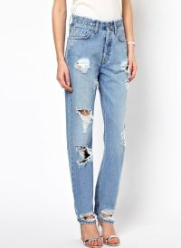 Frayed jeans 9