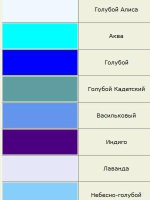 odcienie kolorów 12