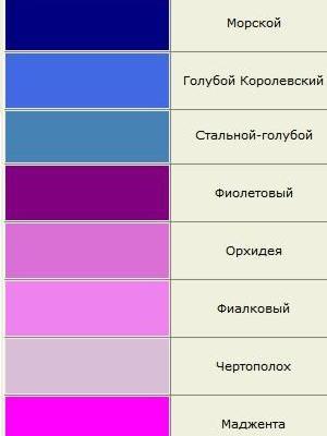 odcienie kolorów 13