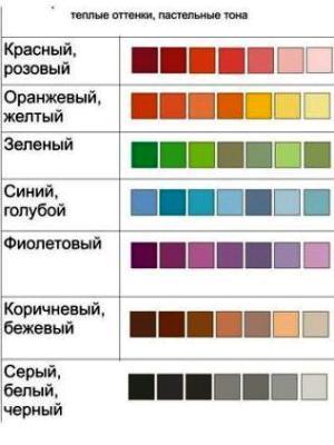 odcienie koloru 3