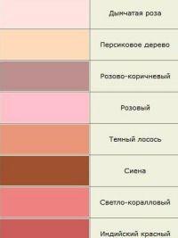 odcienie koloru 7