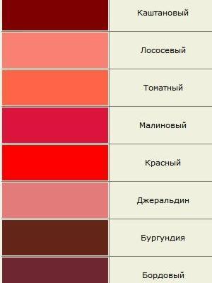 odcienie koloru 8