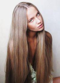 природне нијансе светло смеђе боје косе 1