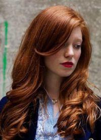 прекрасне нијансе црвене боје косе 9
