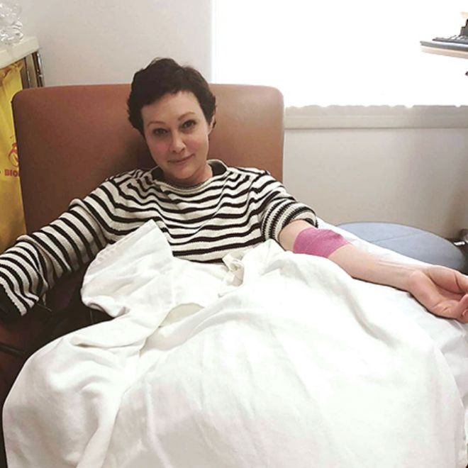 Доэрти перенесла рак груди